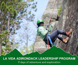 La Vida Adirondack Leadership Program teens 15-18 - La Vida Center for Outdoor Education and Leadership