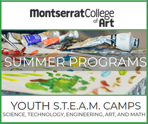 Youth programs at Montserrat College of Art. Summer programs for north shore families.
