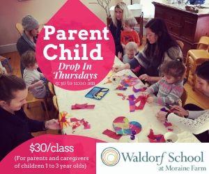 Child Parent Classes Waldorf School at Moraine Farm Beverly MA
