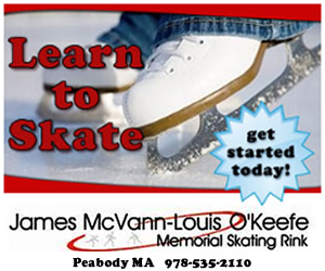 Learn to Skate at Peabody Ice Skating Rink McVann-O'Keefe Memorial Skating Rink