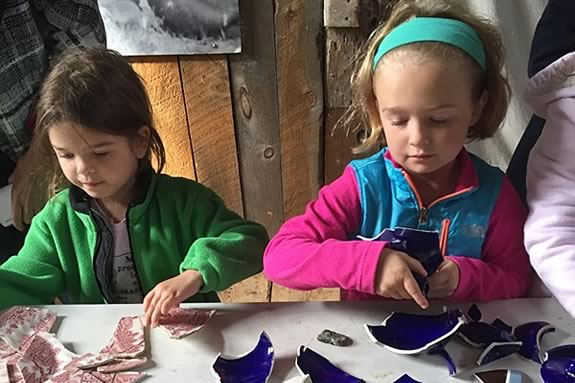 Come to Spencer-Pierce-Little Farm and give your kids a shot at archaeology!