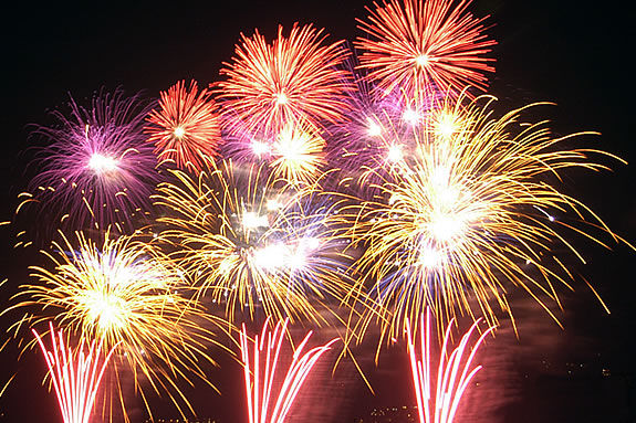 Rockport lights up the night with a mid-Summer fireworks show!