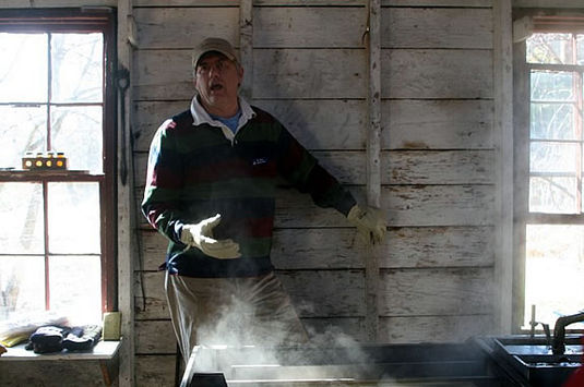 Sugaring Off tours are a fun and tasty way to learn about maple suagring at IRWS