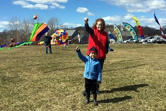 Kite Day at Cogswell Grant is a wonderful fall afternoon event for North Shore families