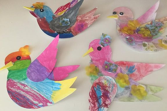 Art Classes for children with Colleen Apostolos