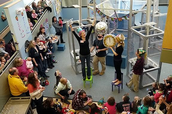 New Year's Eve at Children's Museum of New Hampshire.