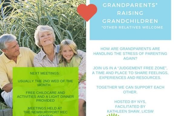 NYS hosts a meeting for grandparents who find themselves in the role of parenting their grandchildren.