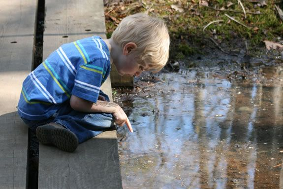 Kids are invited to come Explore the Ponds of Ipswich River Wildlife Sanctuary!