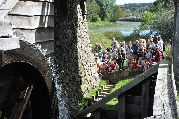 Free Ranger guided tours at Saugus Iron Works!