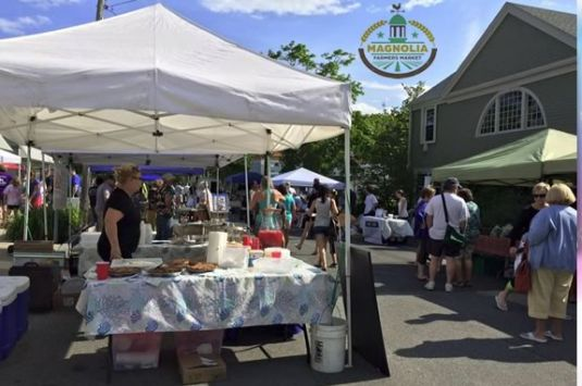Come enjoy the Magnolia Farmers Market on Lexington Ave every Sunday!